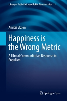 Happiness is the Wrong Metric book cover image