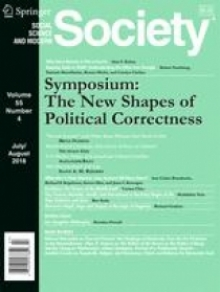 Society (Academic Publication) August 2018 Cover