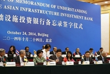 Asian Infrastructure Investment Bank decision