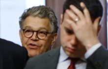 U.S. Senator Al Franken (D-MN) arrives at the U.S. Senate prior to his resignation over allegations of sexual misconduct
