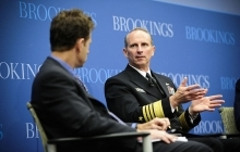 Chief of Naval Operations speaks at the Brookings Institute about the Air-Sea Battle concept