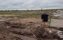 Aftermath of Tornado in Moore, Ok