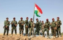 Peshmerga fighters
