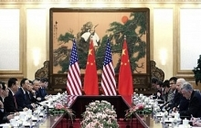 Meeting of American and Chinese Officials