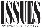 Issues in Science and Technology Logo
