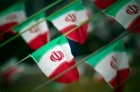 Iran Flag on String