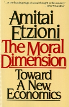 The Moral Dimension book cover
